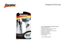 Energizer - latarki hi-tech LED