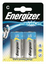 Energizer Maximum + Power boost  LR14