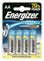 Energizer Maximum + Power boost  LR6