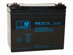 Akumulator AGM MW Power 12V 33Ah 6-9 lat