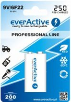 EverActive 6F22/9V 250 mAh ready to use