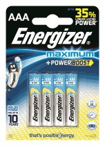 Energizer Maximum + Power boost LR03